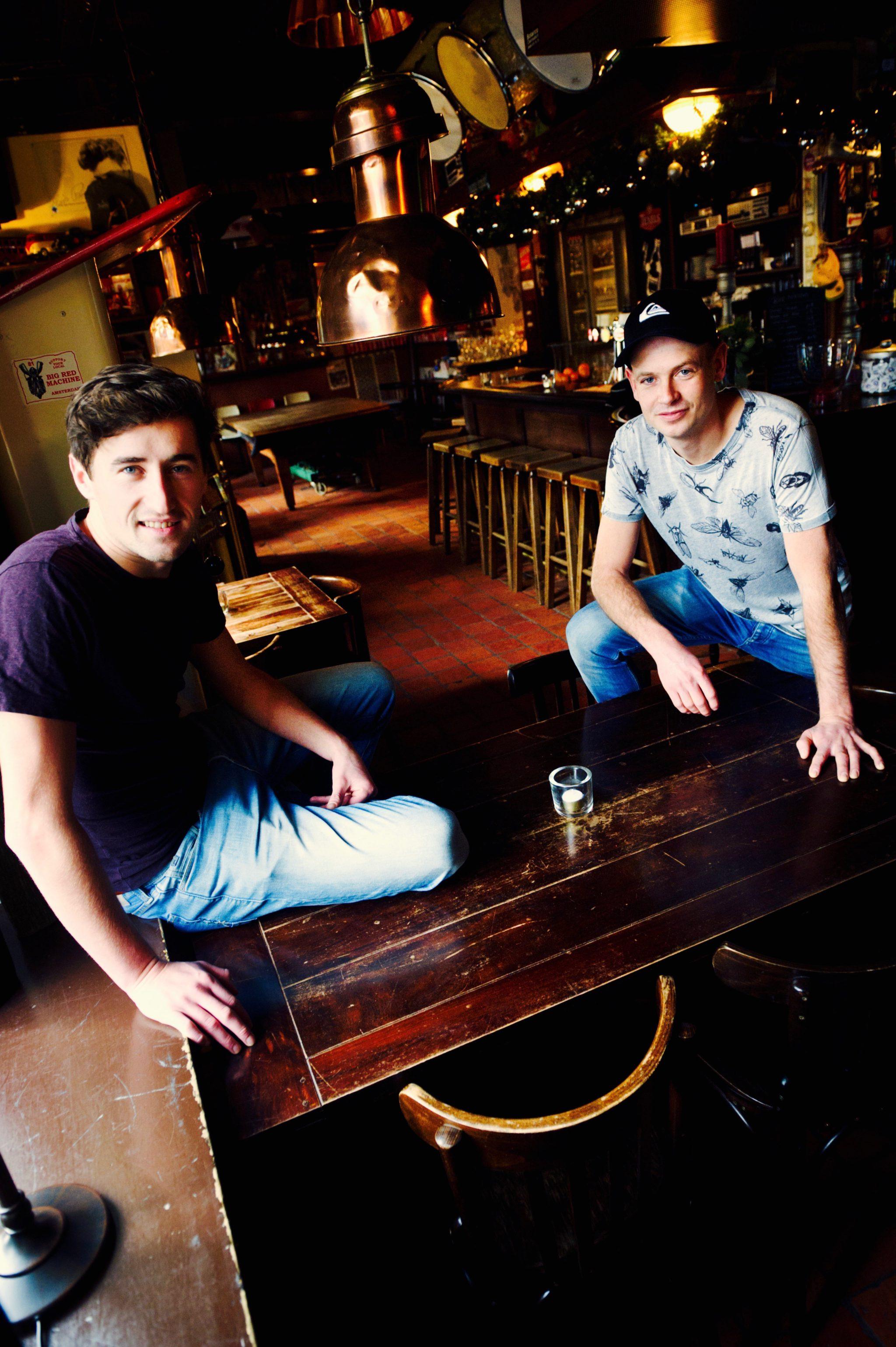 De derde generatie eigenaren Tom Lamers en Boy de Swart